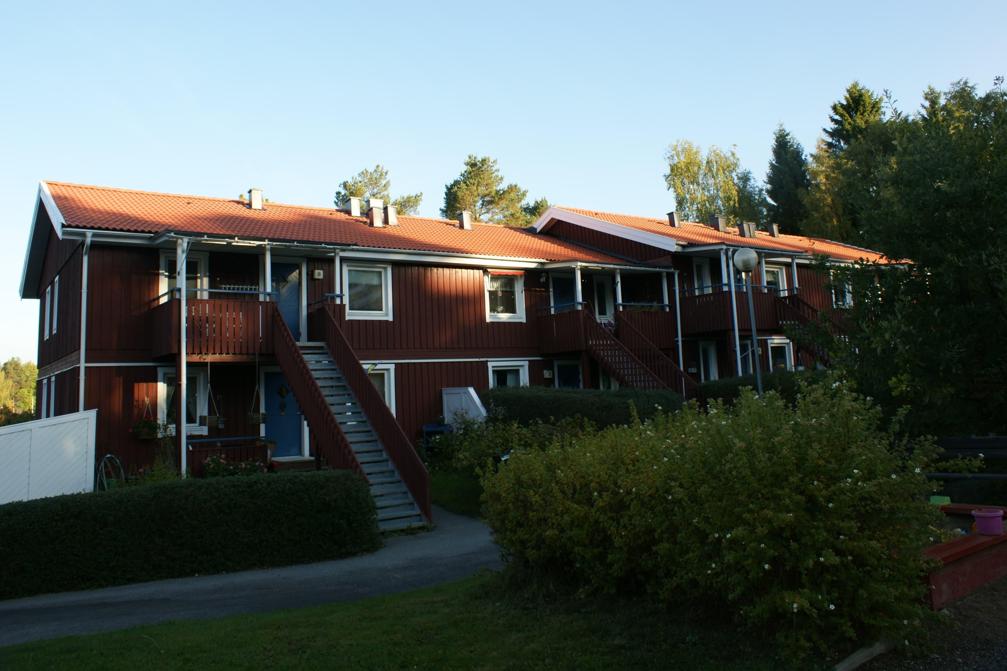 Takläggning nära Stockholm