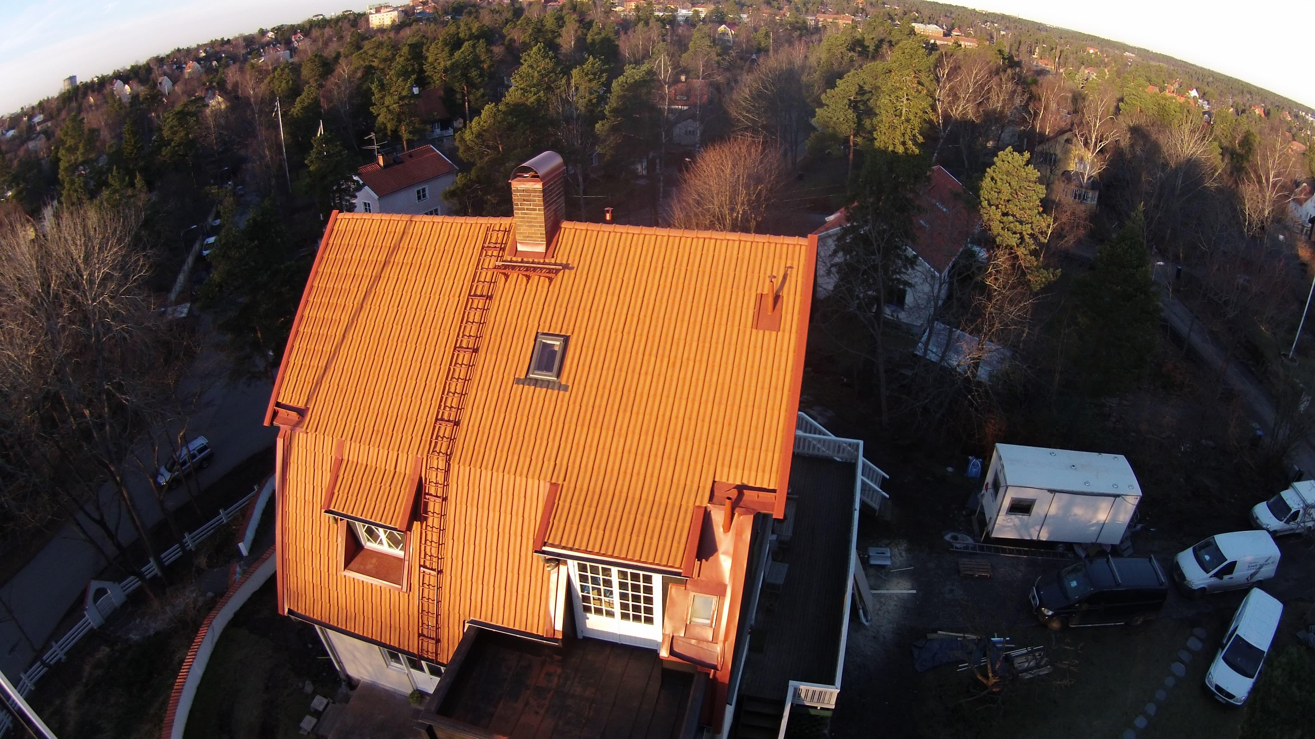 Takläggning Stockholm/Lidingö