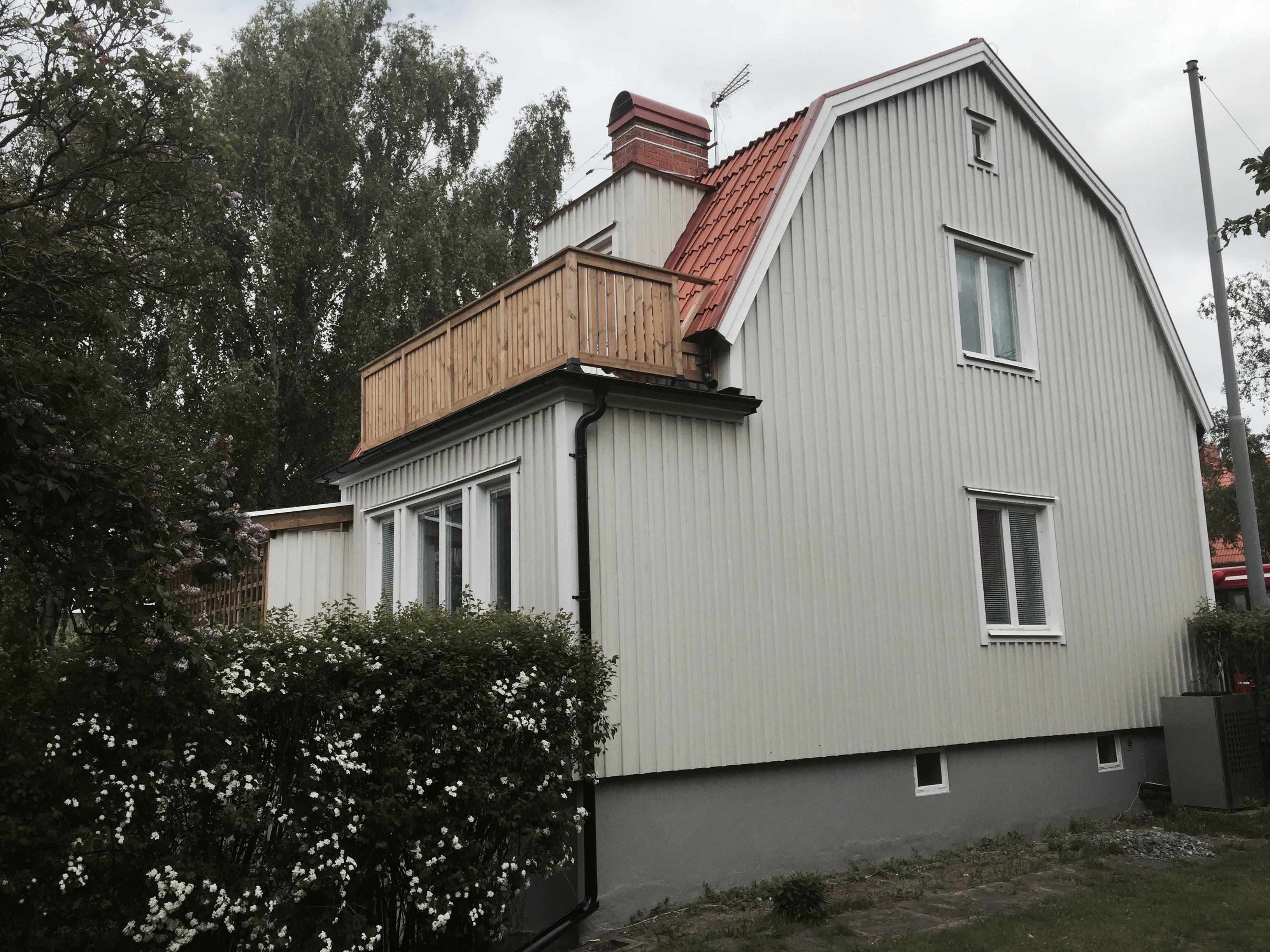 Fasadrenovering Bromma, Stockholm