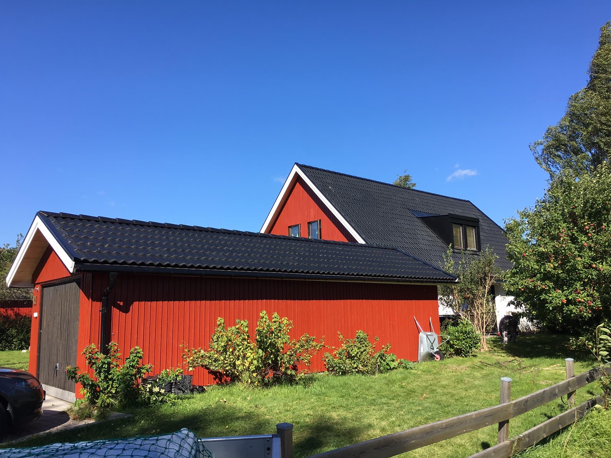 Fasadrenovering och takarbeten Täby