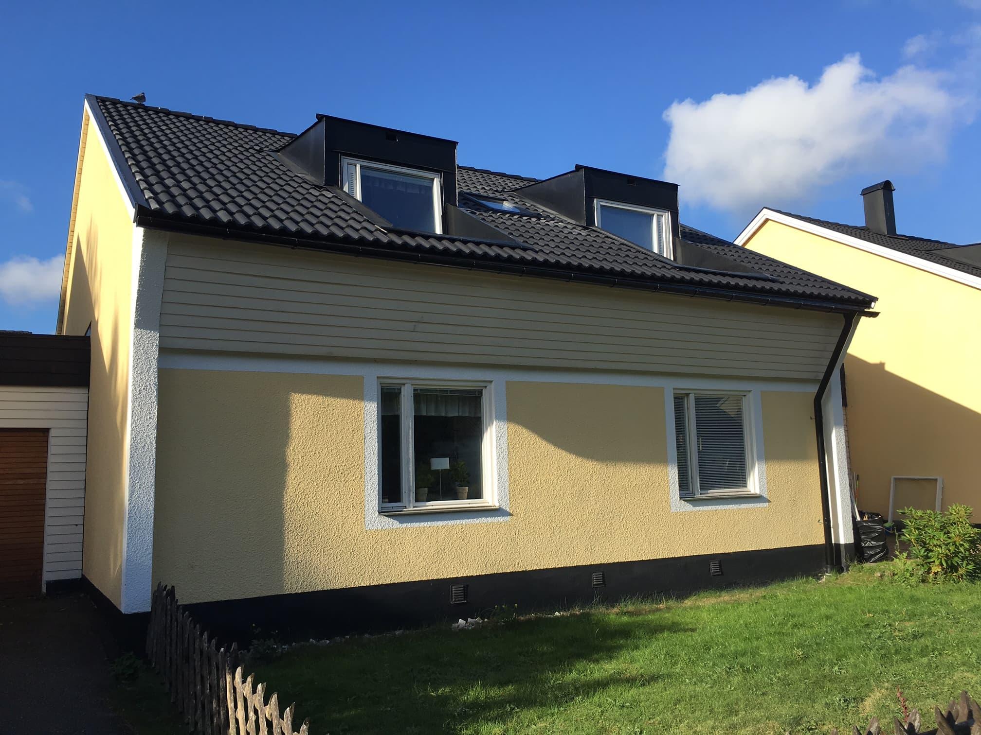 Takrenovering, takläggning Vällingby